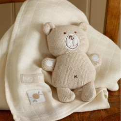 HUG ME KNITTED BEAR &...